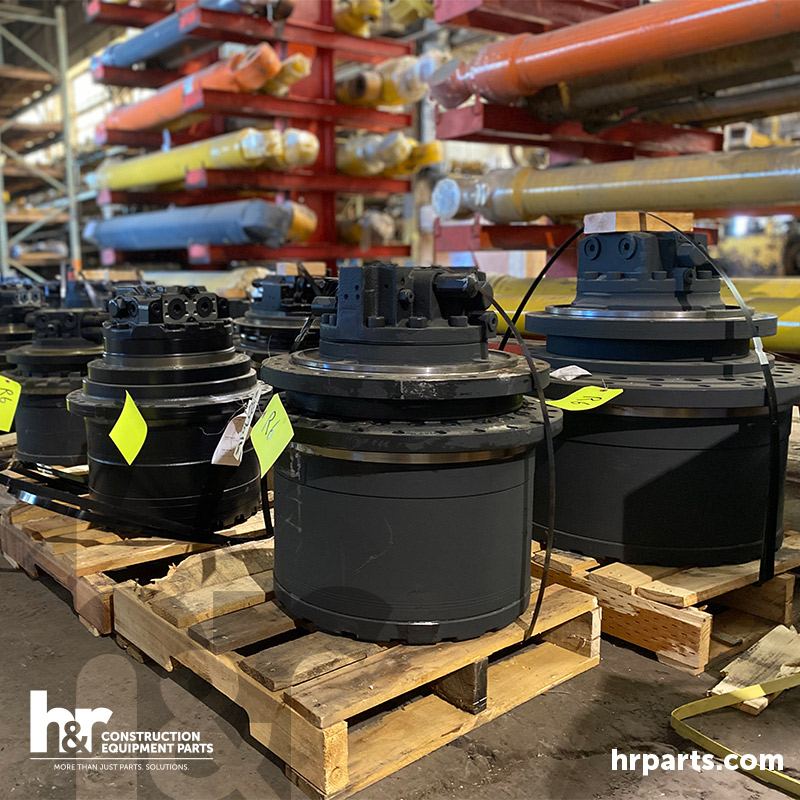 New aftermarket final drives are ready for shipping.