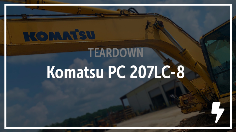 Komatsu PC270LC-8 Excavator