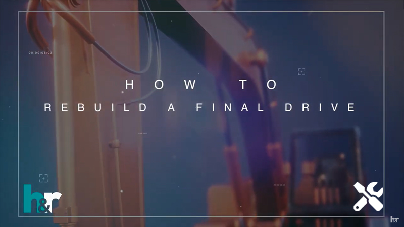 A title screen says How to Rebuild a Final Drive