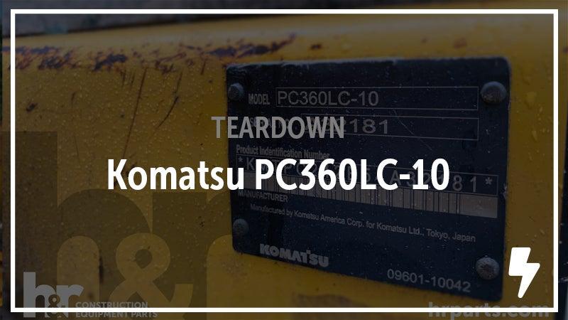 Komatsu PC360-LC-10 Excavator