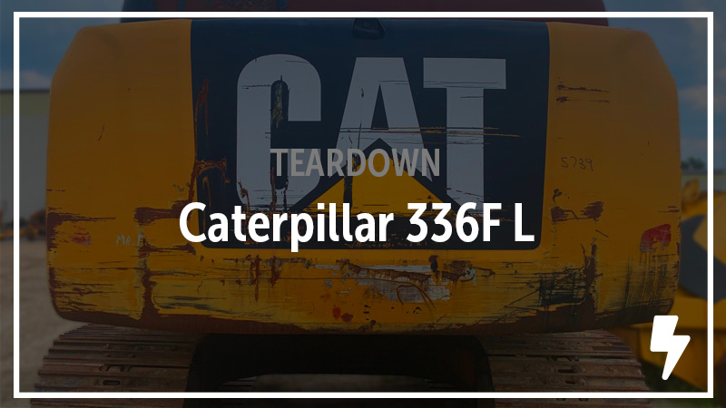 Caterpillar 336F L Excavator