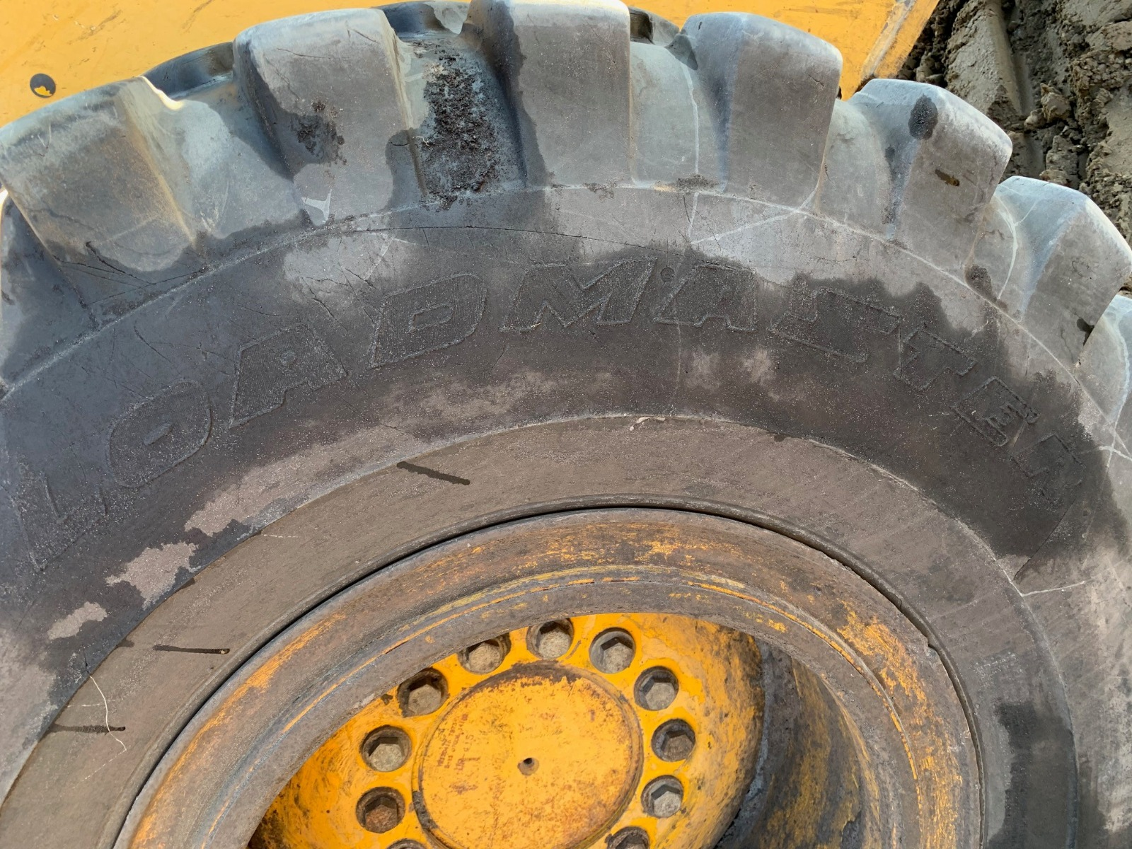 John Deere 544J dismantled machine photo 9