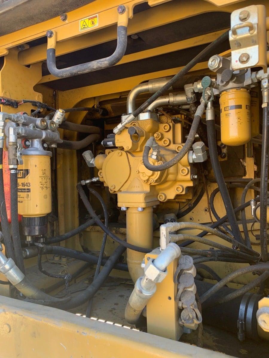 Caterpillar 336E L salvaged machine photo 11