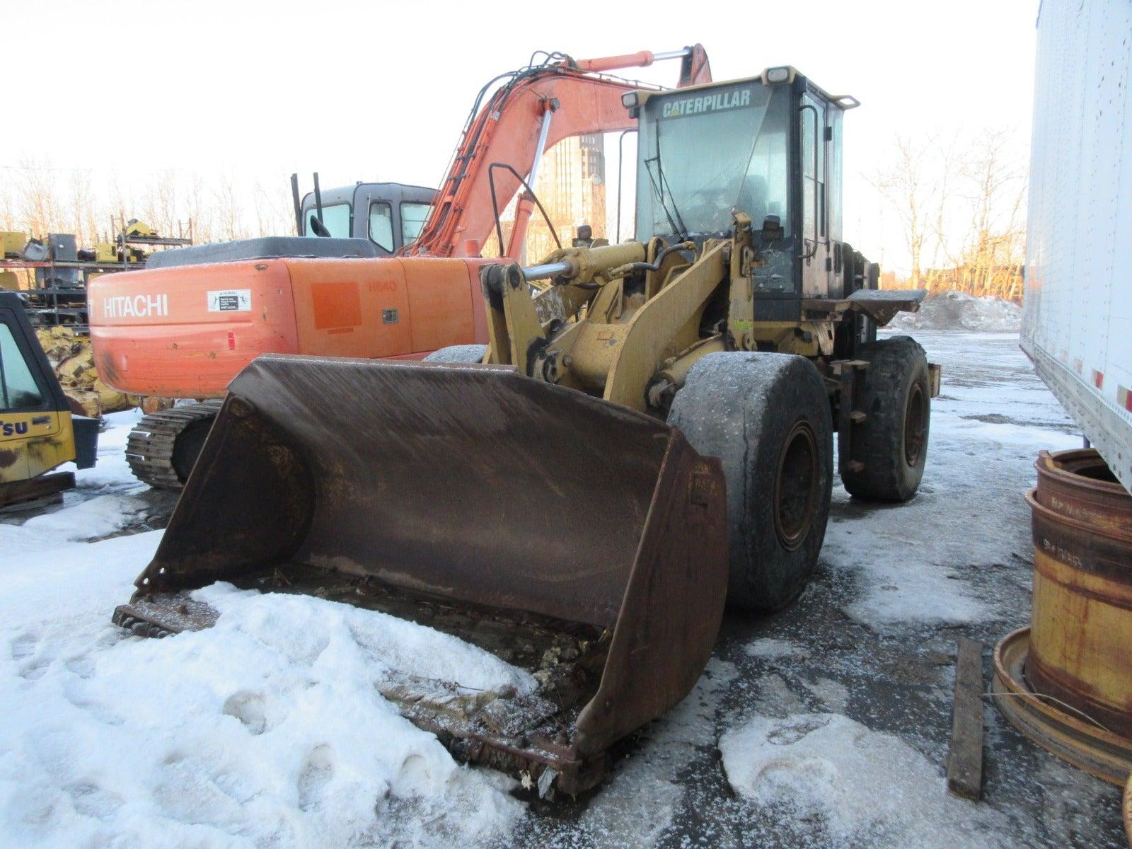 Salvaged 938G II Wheel Loader