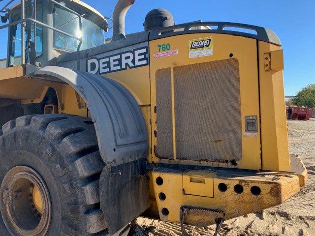 John Deere 844K-II teardown machine photo 10