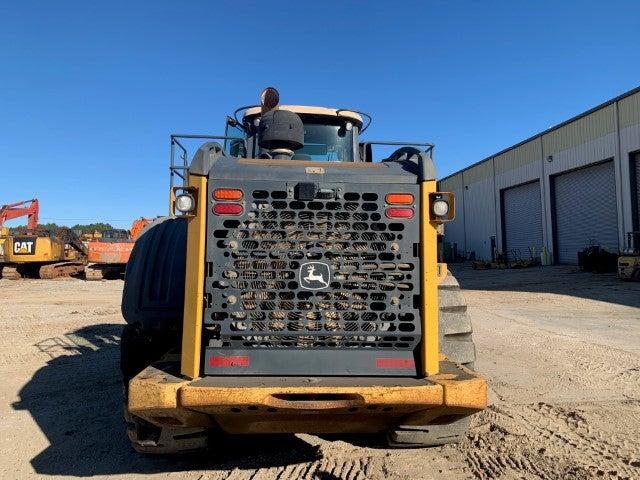 John Deere 844K-II teardown machine photo 12