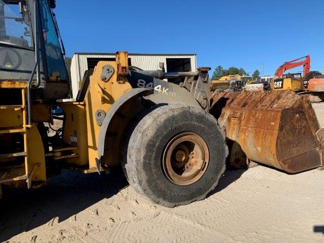 John Deere 844K-II teardown machine photo 2