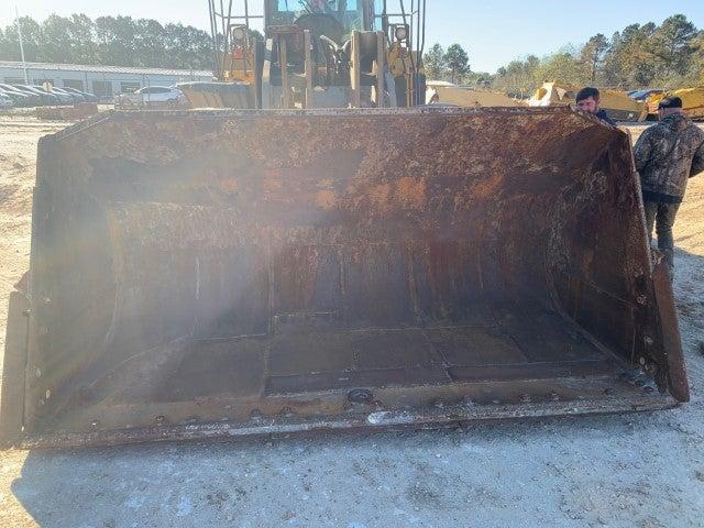 John Deere 844K-II teardown machine photo 4